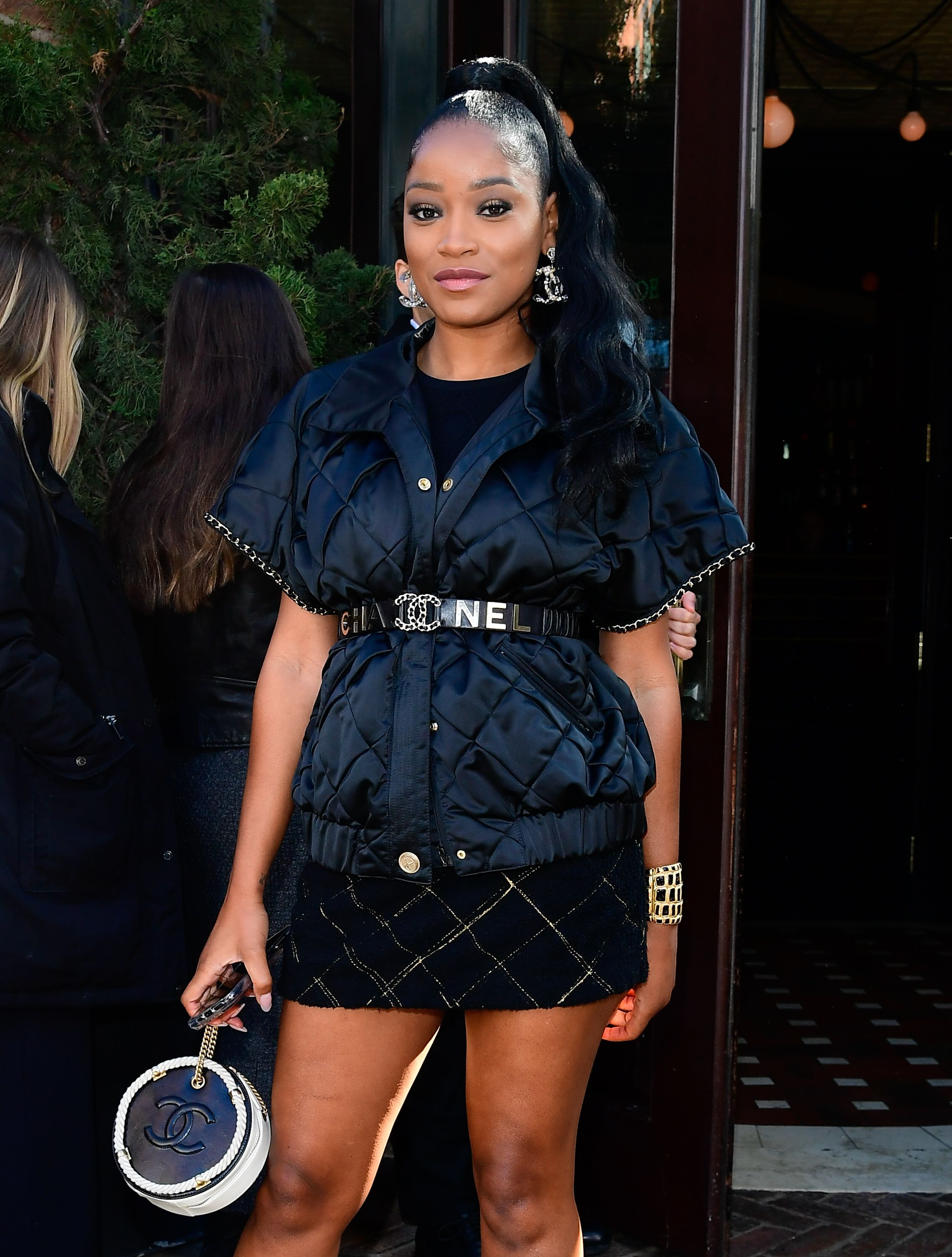 KeKe Palmer at the Tribeca Chanel Women Filmmaker Luncheon on November 4, 2019 in New York.   Photo: Getty Images