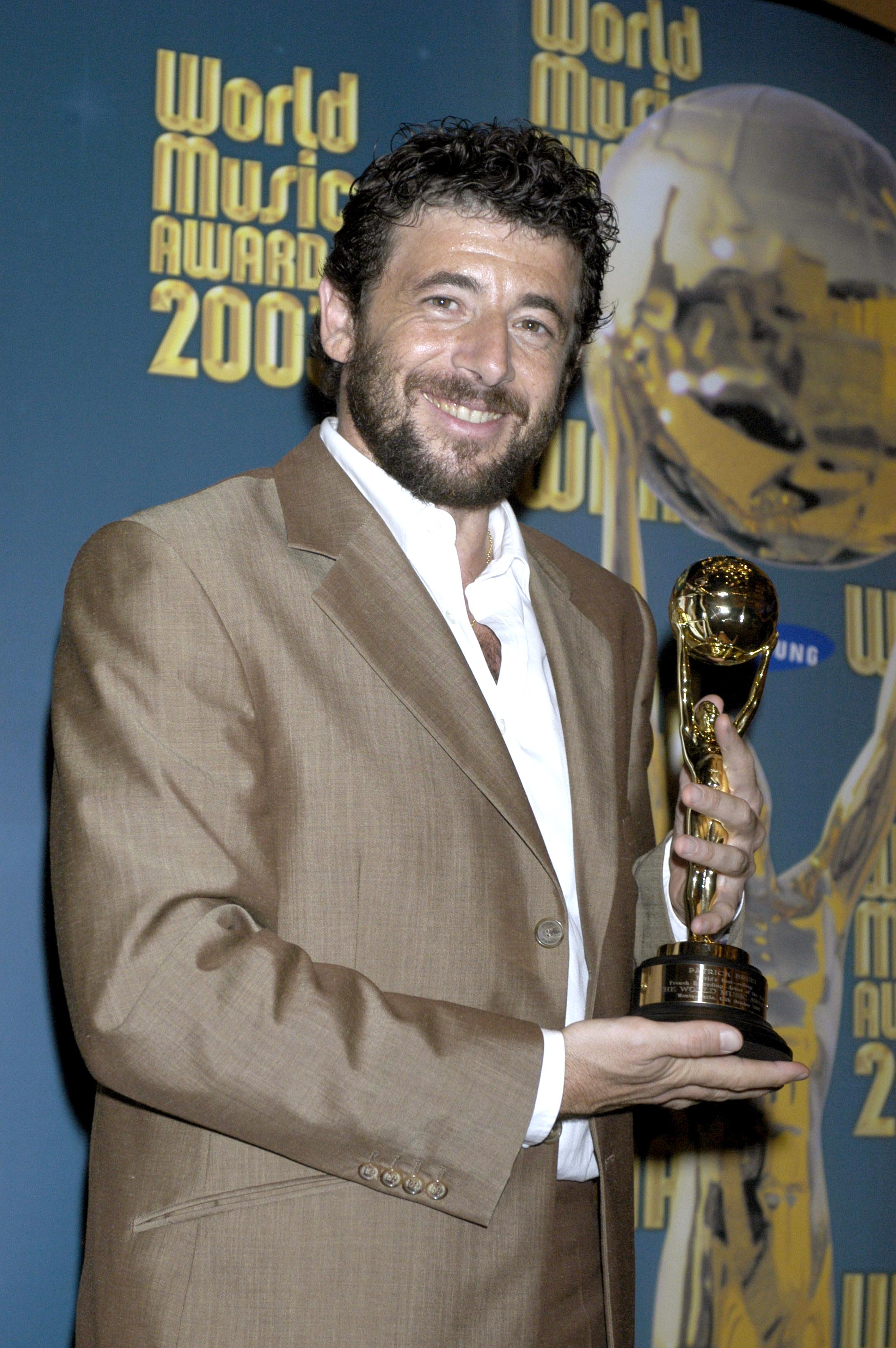Patrick Bruel aux World Music Awards en 2013. l Source : Getty Images