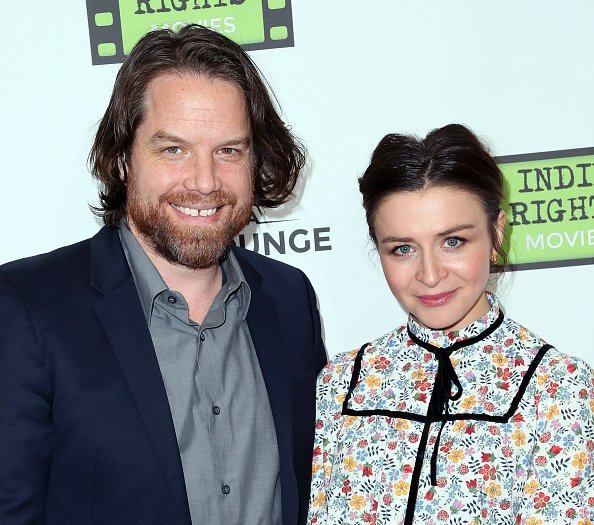 Rob Giles and wife actress Caterina Scorsone at Arena Cinelounge in Hollywood, California. | Photo: Getty Images.