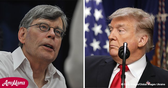 Stephen King asks Republicans if they know allying with dirty guys means 'you're dirty yourself'