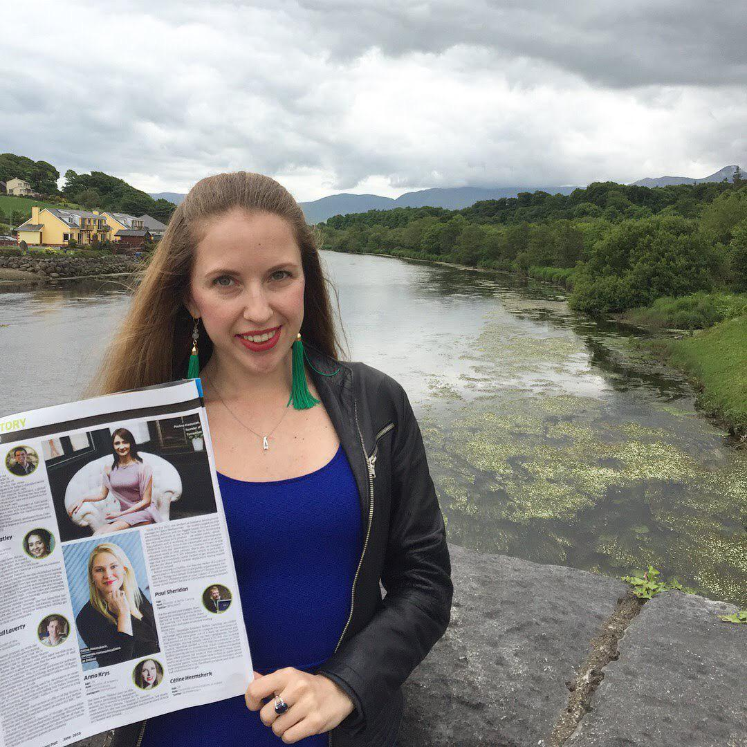 Anna Krys, Head of Diversity & Inclusion Practice at CFC Big Ideas, made it to the Top 30 under 30 list of Sunday Business Post | Photo: Courtesy of Anna Krys