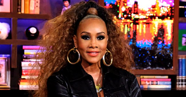 Vivica Fox Sets Hearts Racing Rocking a Sheer Gucci Top with Ripped Skinny Jeans (Photos)