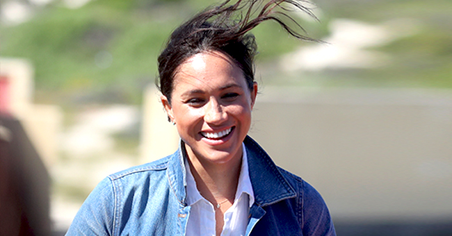 Meghan Markle Looks Stylish in Denim Jacket & Skinny Black Jeans for Second Day of Royal Africa Tour