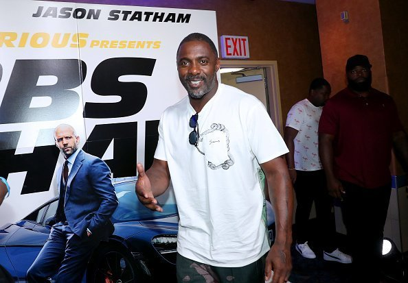 "Idris Elba at ""Fast & Furious Presents: Hobbs & Shaw"" screening in New York City.