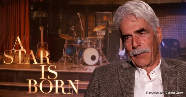 Sam Elliott shares how weird it was hearing Bradley Cooper mimicking him in 'A Star Is Born'