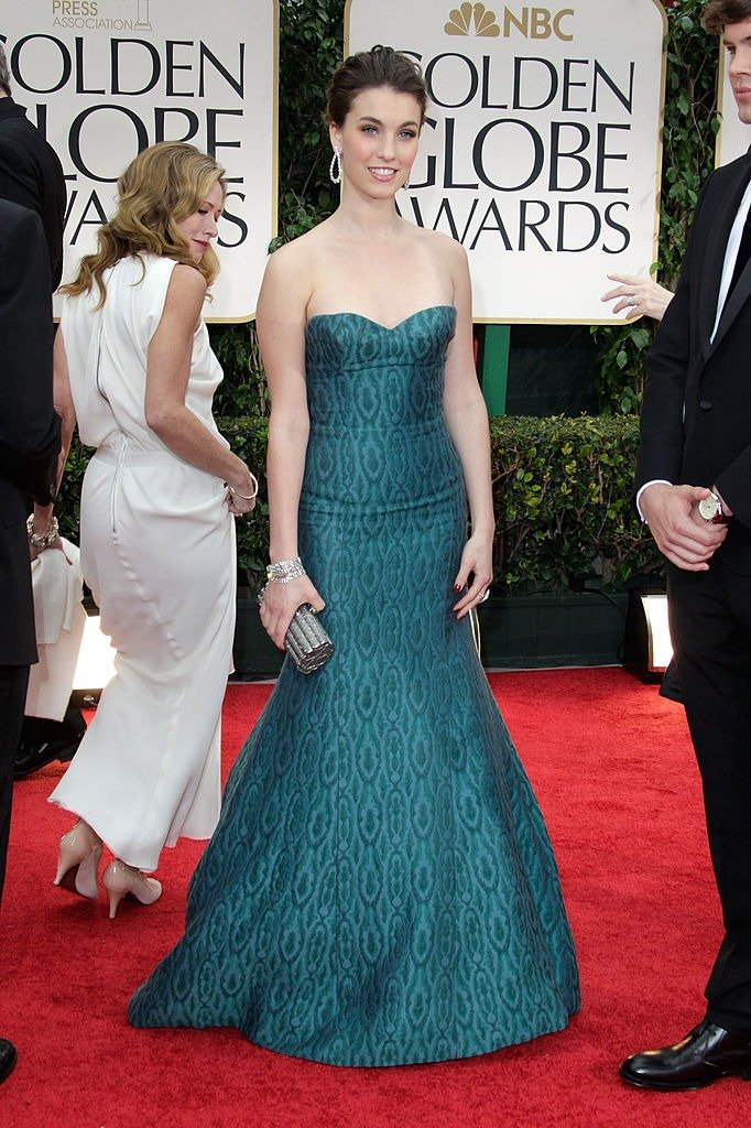 Rainey Qualley arrives at the 69th Annual Golden Globe Awards held at the Beverly Hilton Hotel on January 15, 2012 in Beverly Hills, California   Photo: Getty Images