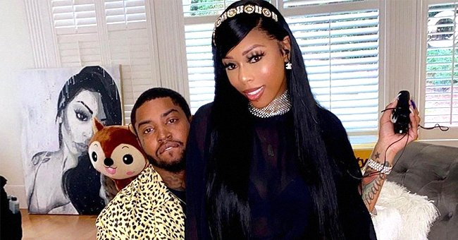 Lil Scrappy's Wife Looks Cool With Her Growing Baby Bump On Display in a Sparkling Bra & Pants