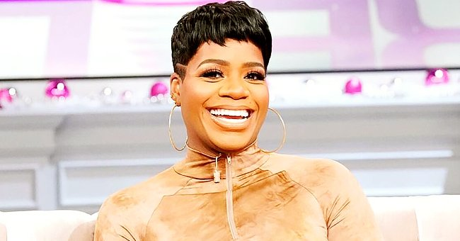 Fantasia Barrino Wears a Tight Purple Outfit as She Flaunts Her Baby Bump at 4 Months (Photo)