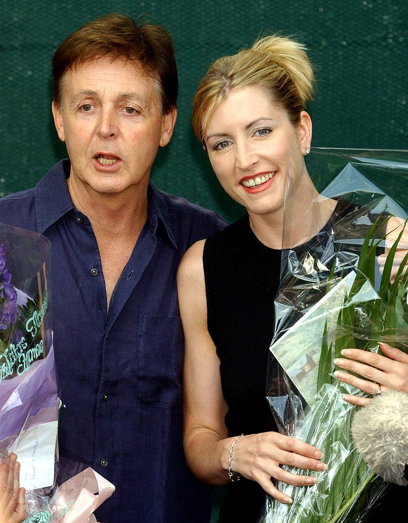 Paul McCartney and Heather Mills. I Image: Getty Images.