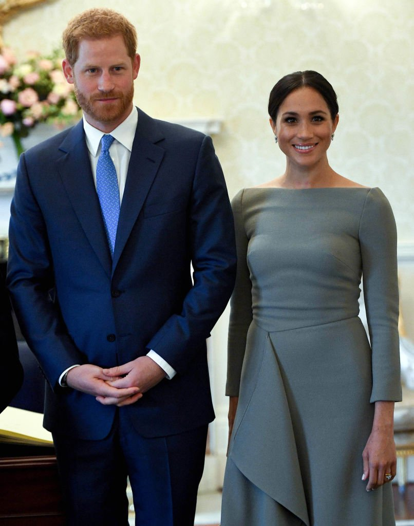 Duke of Sussex and Meghan, Duchess of Sussex seen during their visit to Ireland at Aras an Uachtarain on July 11, 2018 in Dublin, Ireland | Photo: Getty Images