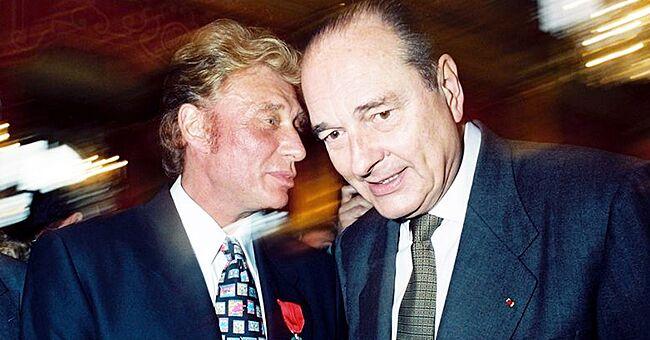 Le guitariste de Johnny Hallyday évoque un cadeau que Jacques Chirac a offert au rockeur