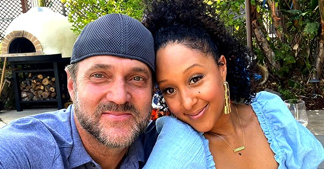 Check Out These Photos from Adam Housley's Birthday Celebration with Wife Tamera Mowry & Kids