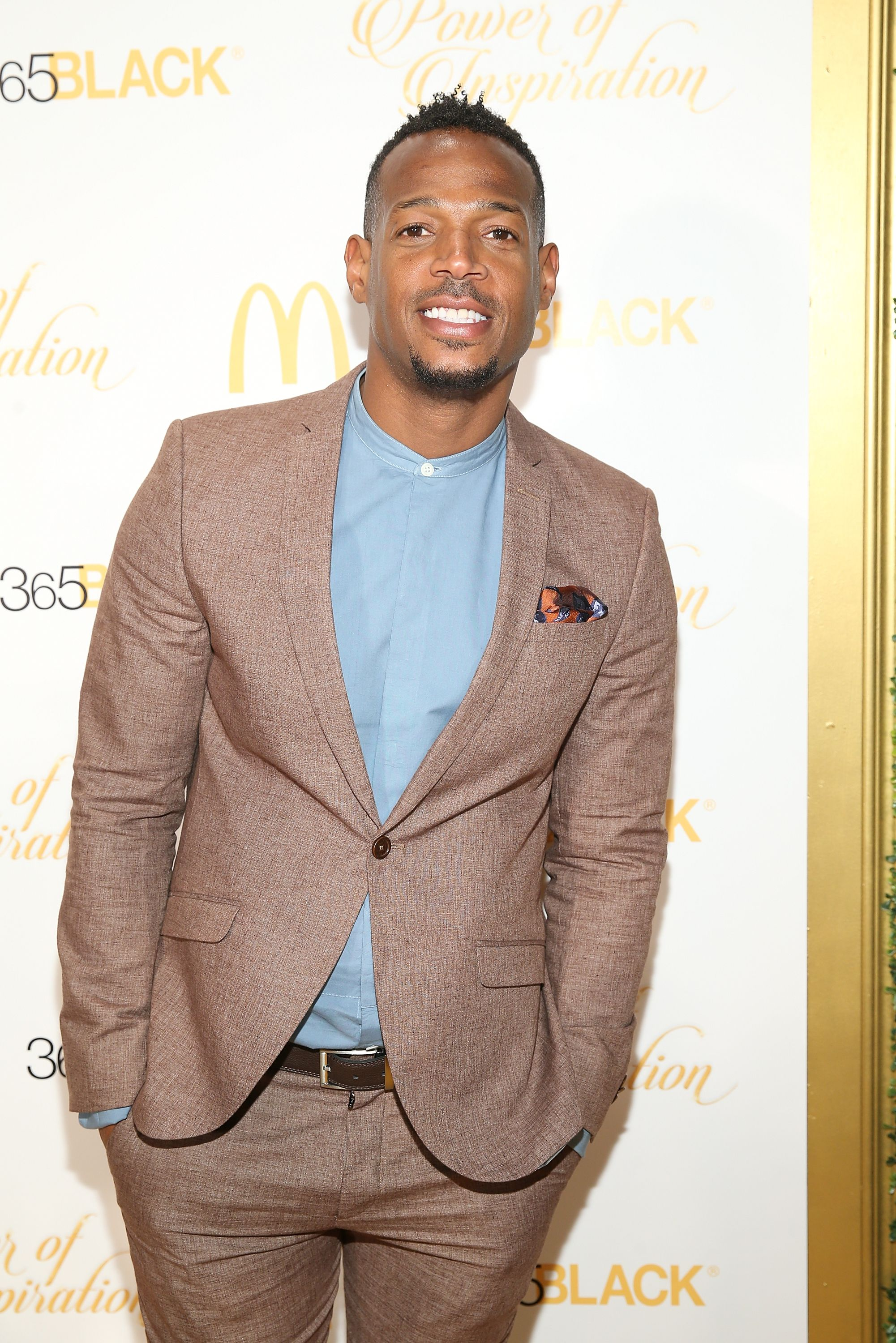 Actor Marlon Wayans at the 14th Annual McDonald's 365Black Awards at The Ritz-Carlton New Orleans on July 2, 2017 in New Orleans, Louisiana | Photo: Getty Images