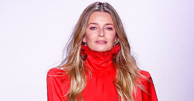 Paulina Porizkova Enjoys Her Workout Dancing to Abba's 'Gimme! Gimme!' in a Tank Top & Leggings