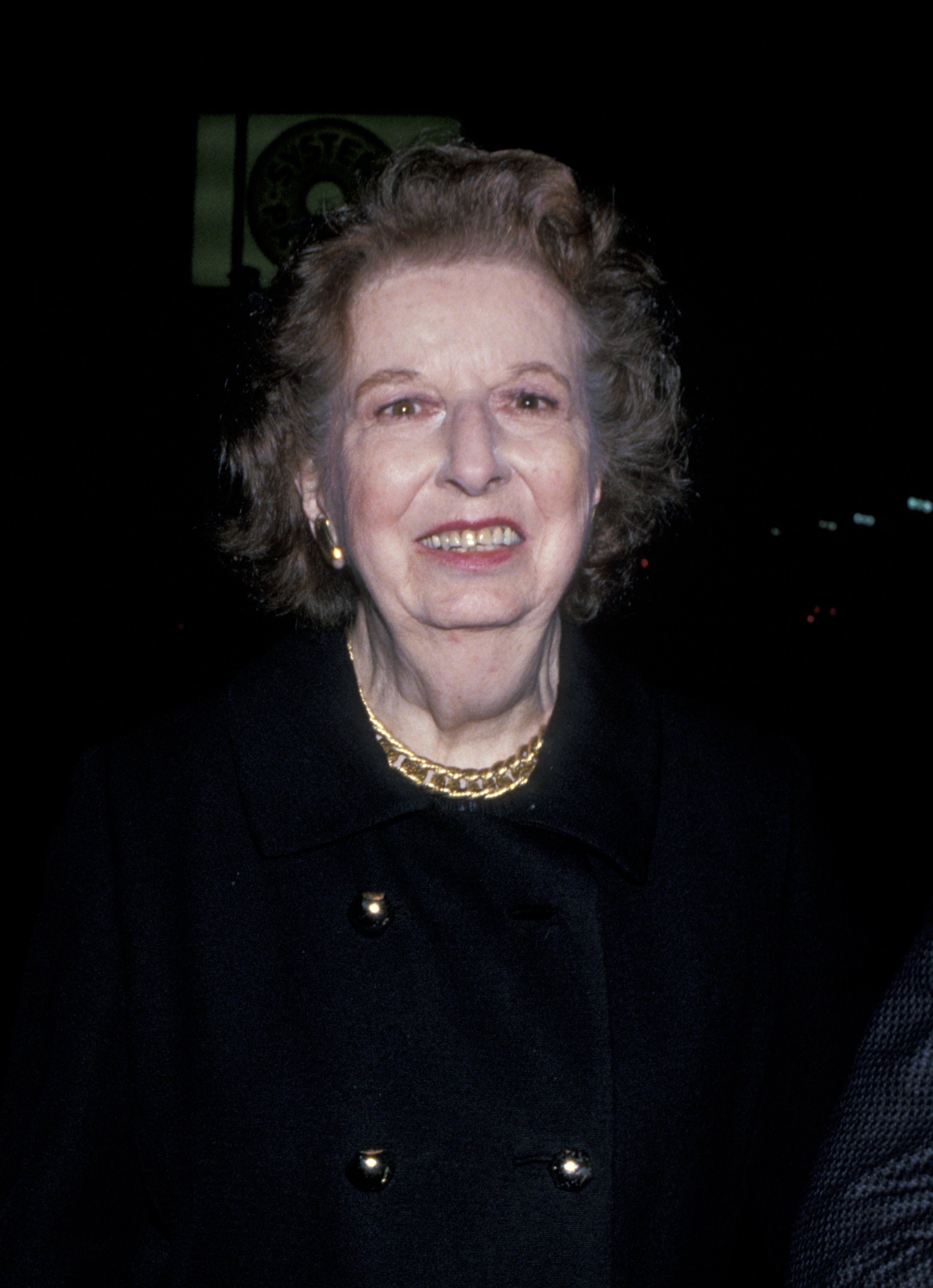 """Mary Wickes during Opening of """"Byron"""" at James A. Doolittle Theater in Los Angeles, CA, United States.  Source: Getty Images"""
