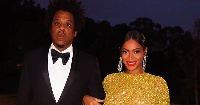 Beyoncé's Golden Gown Photo with Insta Comedian Kway Rogers Fuels Pregnancy Rumors