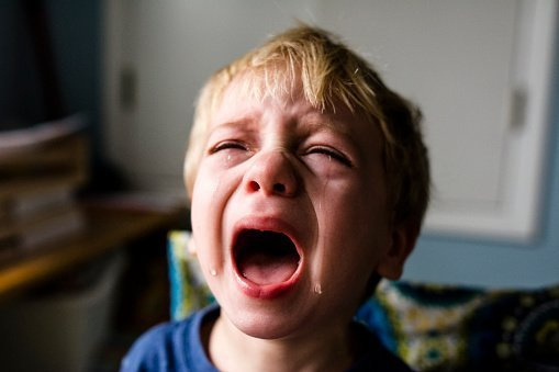 A young boy pictured crying | Photo: Getty Images