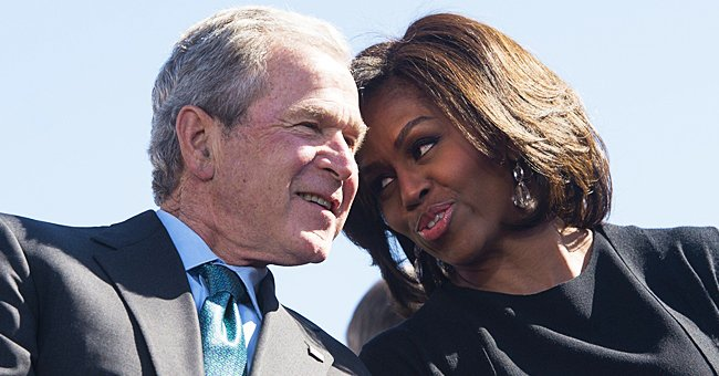 Former President George W Bush Opens Up about His Unlikely Friendship with Michelle Obama