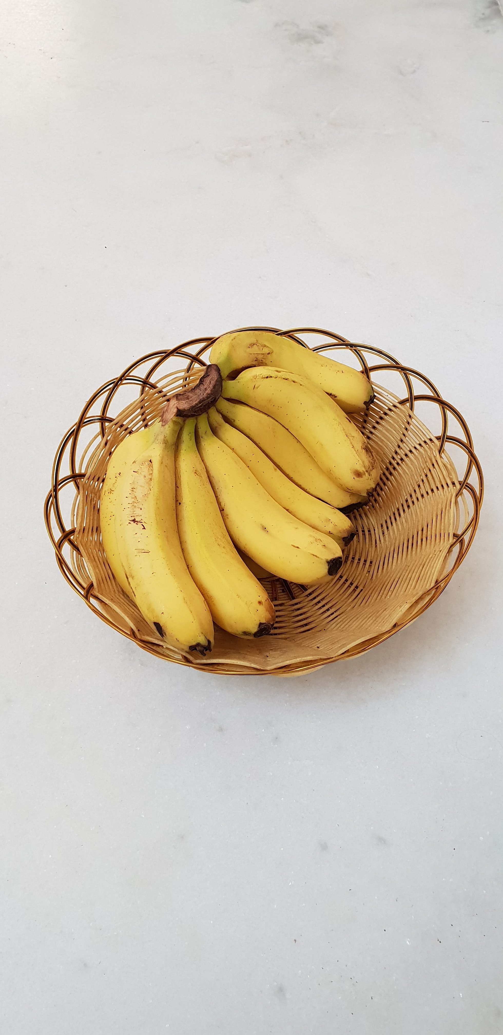 A bunch of bananas in a basked | Source: Unsplash.com