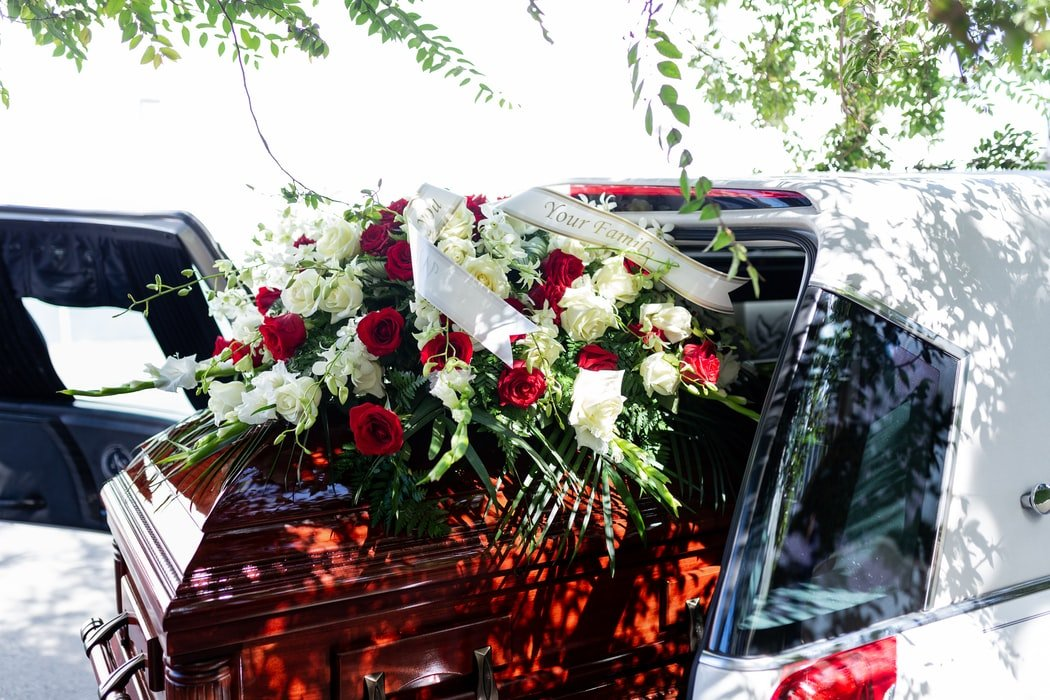 His wives funeral   Source: Unsplash