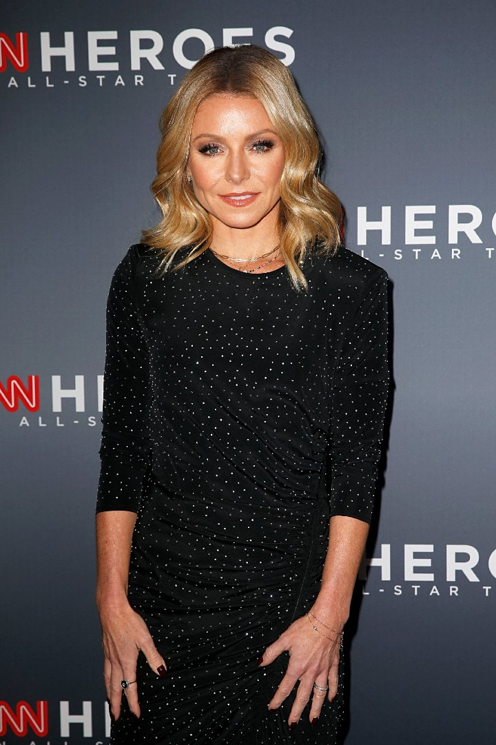 Kelly Ripa attending the 12th Annual CNN Heroes: An All-Star in New York City, in December 2018. | Image: Getty Images.