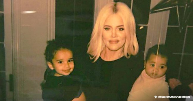 Khloé Kardashian melts hearts with new photos of herself carrying daughter True and niece Dream