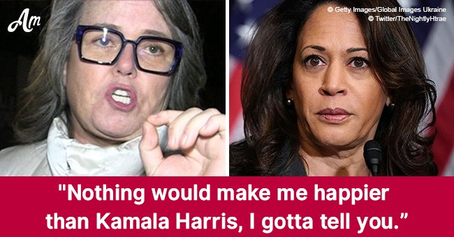 Rosie O'Donnell hopes Kamala Harris will become the next president