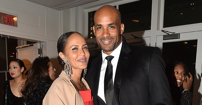 Boris Kodjoe's Wife Bewitches with Her Fashion Look In Chic Outfit after Dropping Her Kids at School