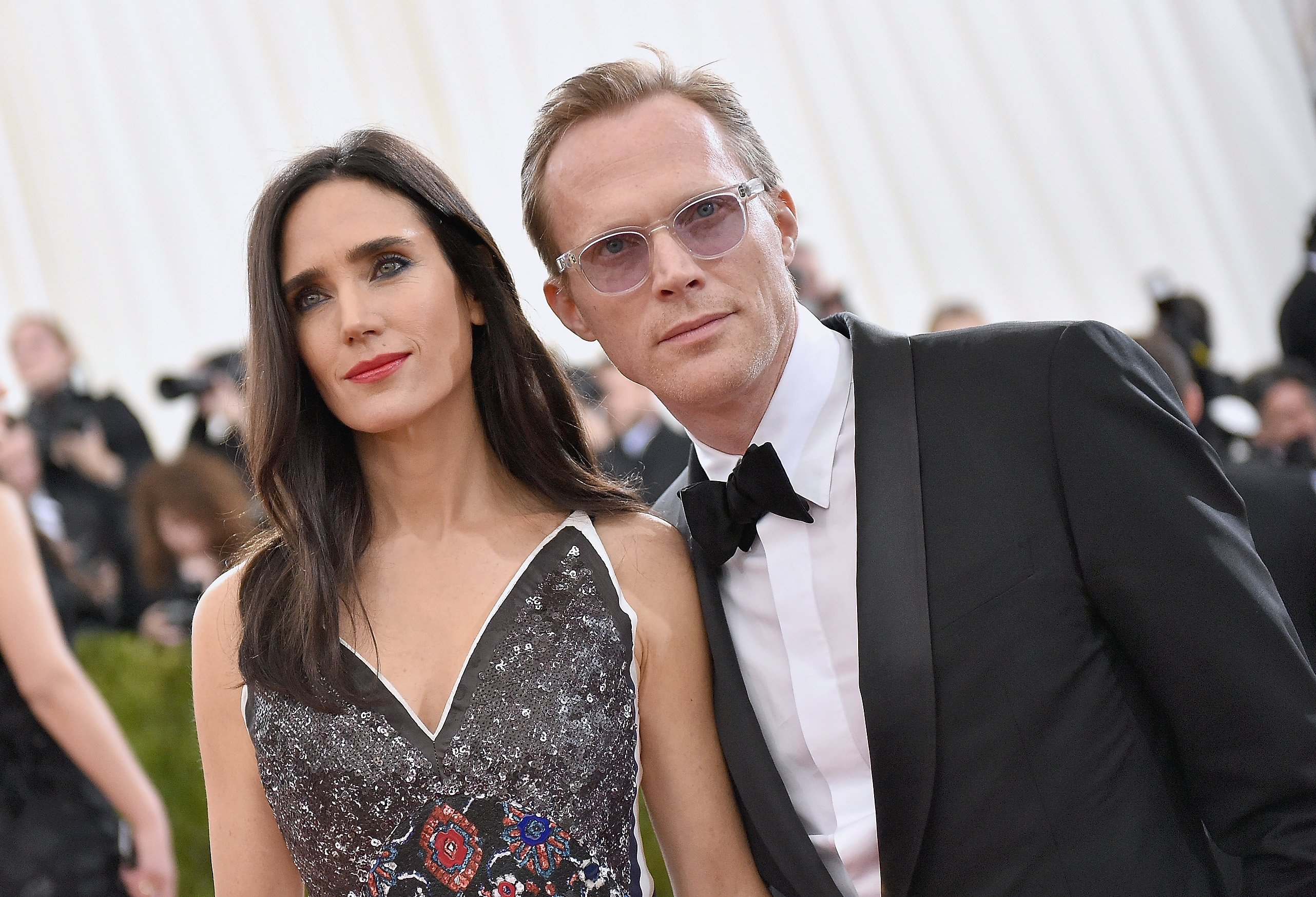 "Jennifer Connelly and Paul Bettany attend the ""Manus x Machina: Fashion In An Age Of Technology"" Costume Institute Gala on May 2, 2016, in New York City. 