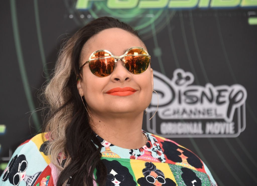 "Raven-Symone attends the premiere of Disney Channel's ""Kim Possible"" at The Television Academy 