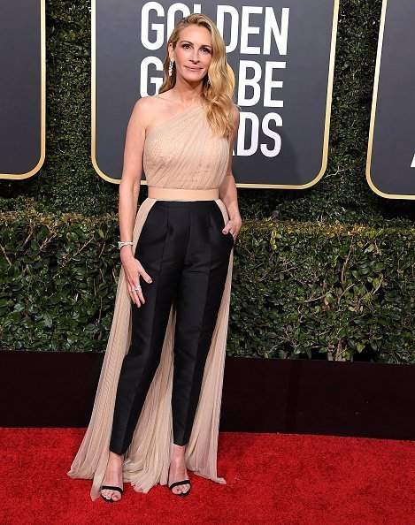Julia Roberts arrives at the 76th Annual Golden Globe Awards | Photo: Getty Images