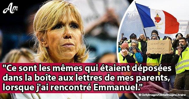 Brigitte Macron a dévoilé ses pensées sur les Gilets jaunes: 'Cette violence et cette vulgarité'