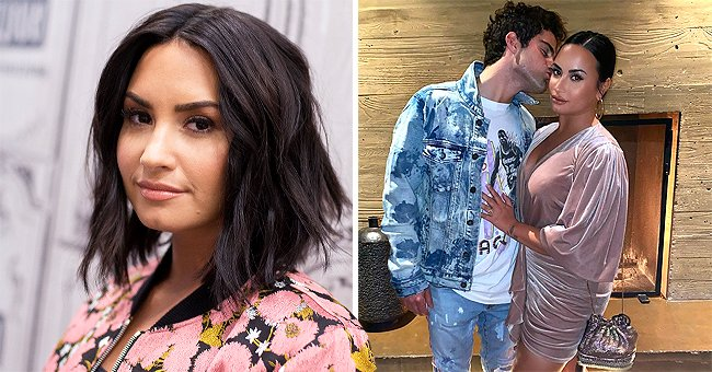 Demi Lovato Looks Smitten as She Celebrates 5-Month Anniversary with Fiancé Max Ehrich