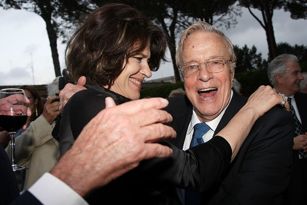 Director Franco Zeffirelli and actress Fanny Ardant attend the 2008 American Academy McKim Award Ceremony. Photo: Getty Images.