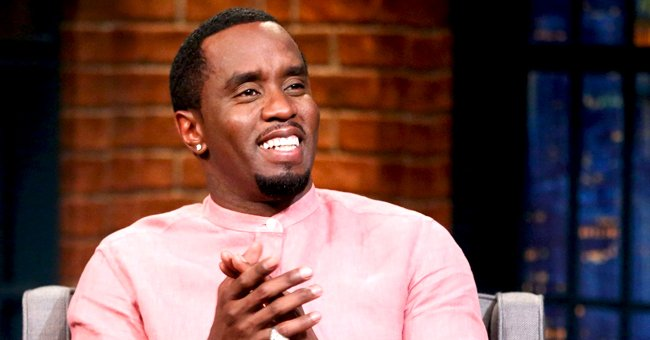 Diddy Is All Smiles Playing Monopoly with His Beautiful Daughters as Chance Wins Game Night