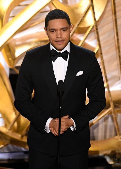 Trevor Noah speaking onstage during the 91st Annual Academy Awards in Hollywood, California | Photo: Getty Images