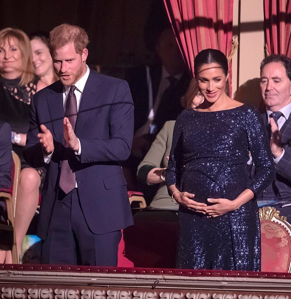 Duke of Sussex and Duchess of Sussex attend the Cirque du Soleil Premiere at Royal Albert Hall on January 16, 2019, in London, England. | Photo: Getty Images