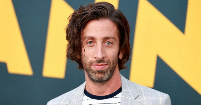 """Simon Helberg at Hollywood Forever for the special screening of Amazon's original movie """"Annette"""" on August 18, 2021 in Hollywood, California. 