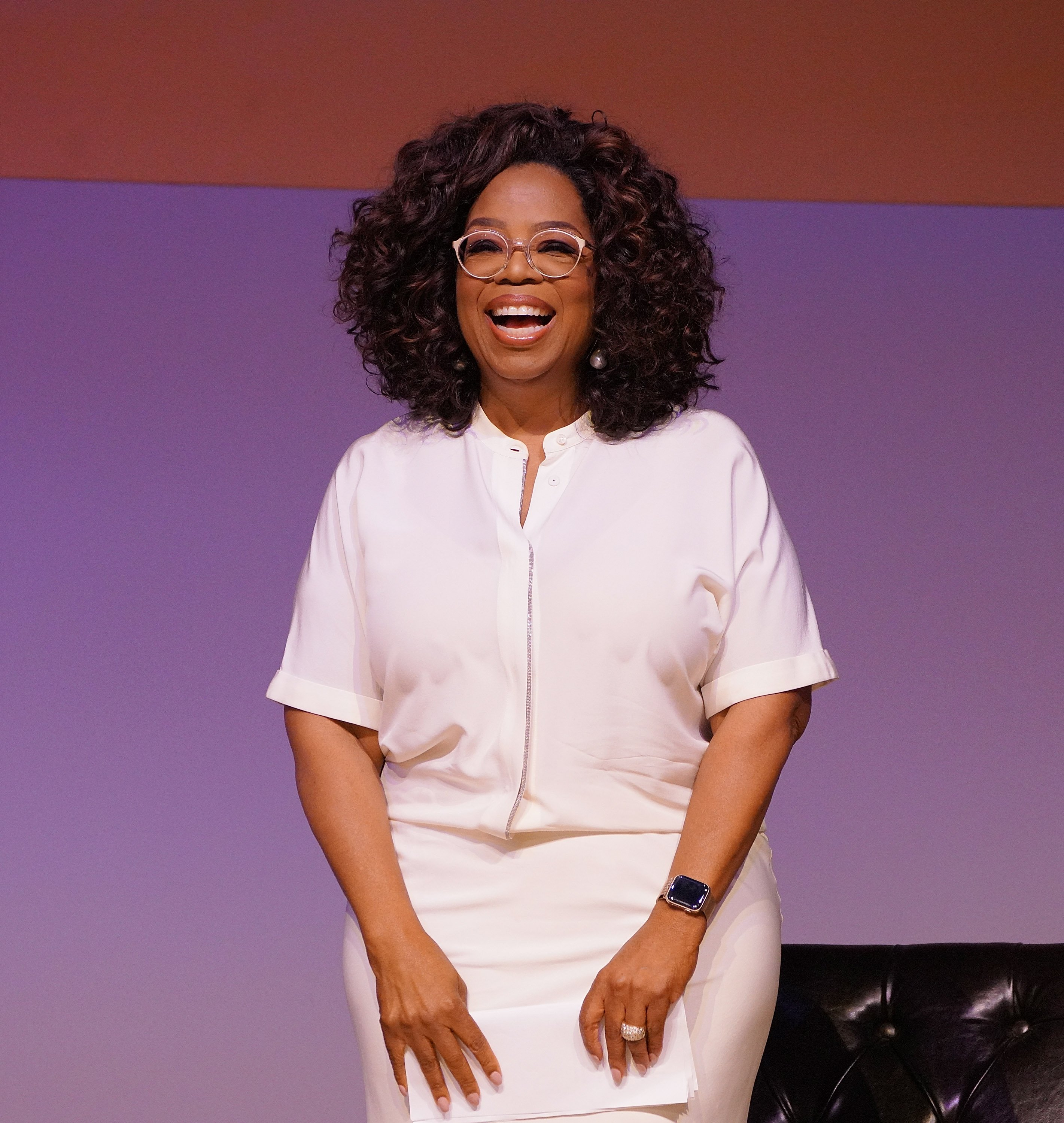 Media personality Oprah Winfrey attends the Dignity of Women Conversation at The University of Johannesburg on November 29, 2018 in Johannesburg, South Africa   Photo: Getty Images
