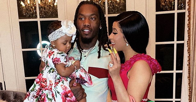 Cardi B Boasts about Spending $80K on Diamonds for Baby Kulture