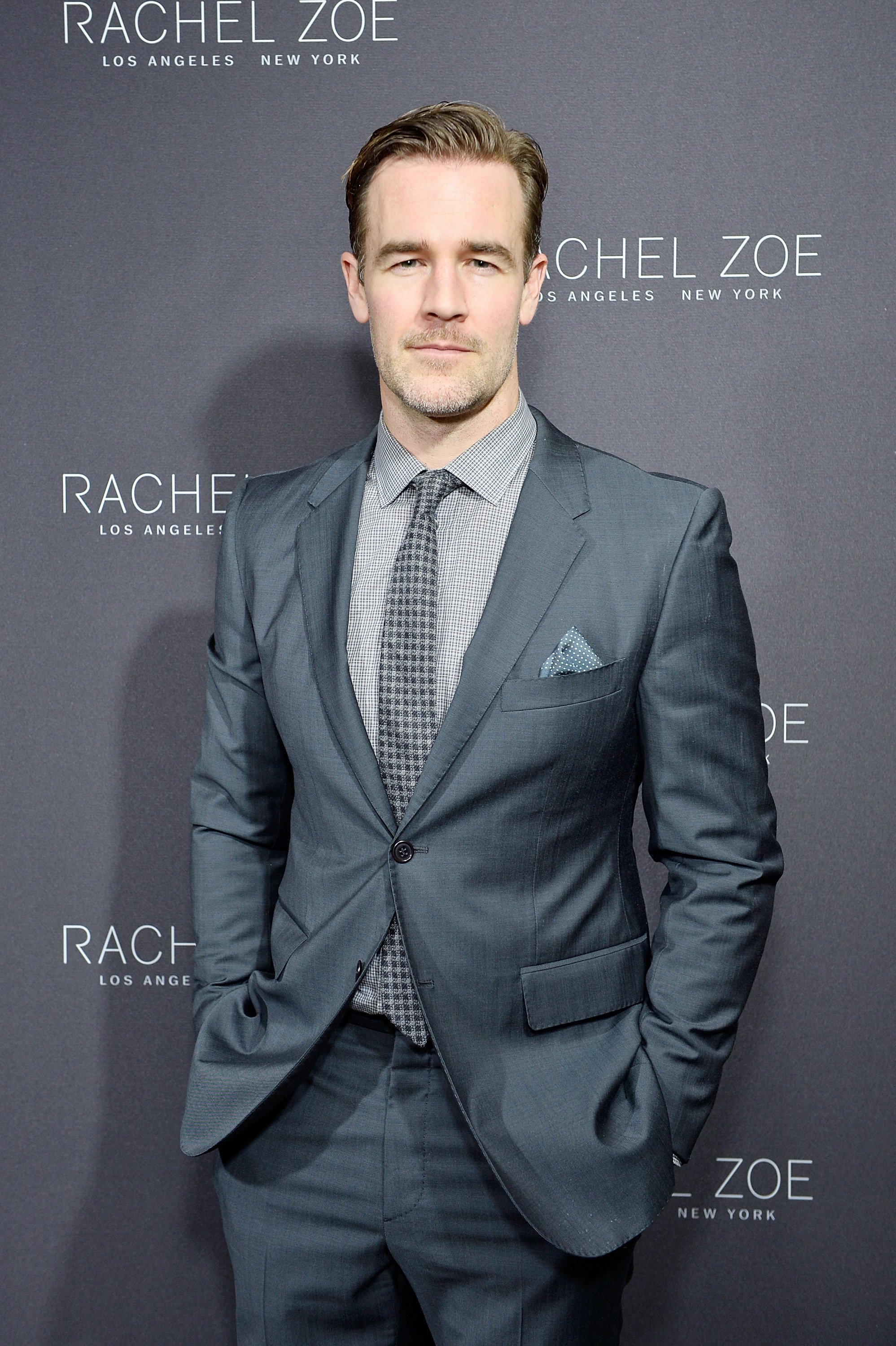 James Van Der Beek at Sunset Tower Hotel on February 6, 2017 in West Hollywood, California | Photo: Getty Images