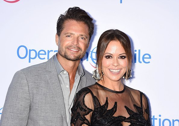 Brooke Burke and David Charvet attend Operation Smile's Annual Smile Gala on September 9, 2017   Photo: Getty Images