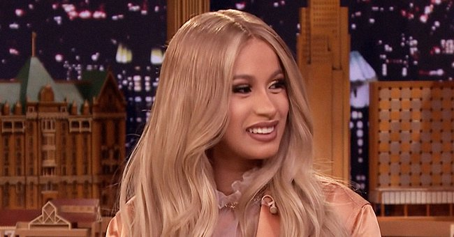 Cardi B's Little Daughter Looks Mischievous As She Beats on Her Mom's Hairdryer in a New Video