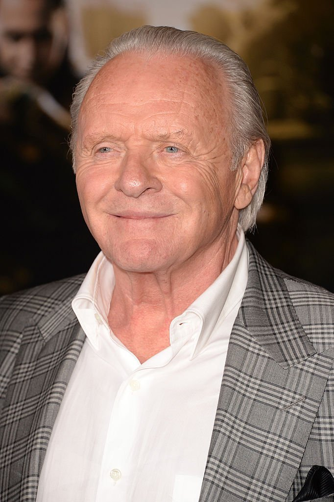 "Actor Anthony Hopkins arrives at the premiere of Marvel's ""Thor: The Dark World"" at the El Capitan Theatre  