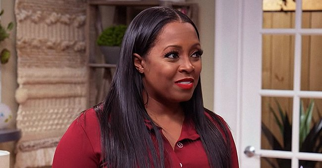 'House of Payne' Star Keshia Knight Pulliam's Daughter Ella Distracts Mom from Her Work in New Photos