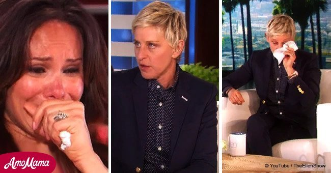 Ellen surprised teacher who fosters students with a special video