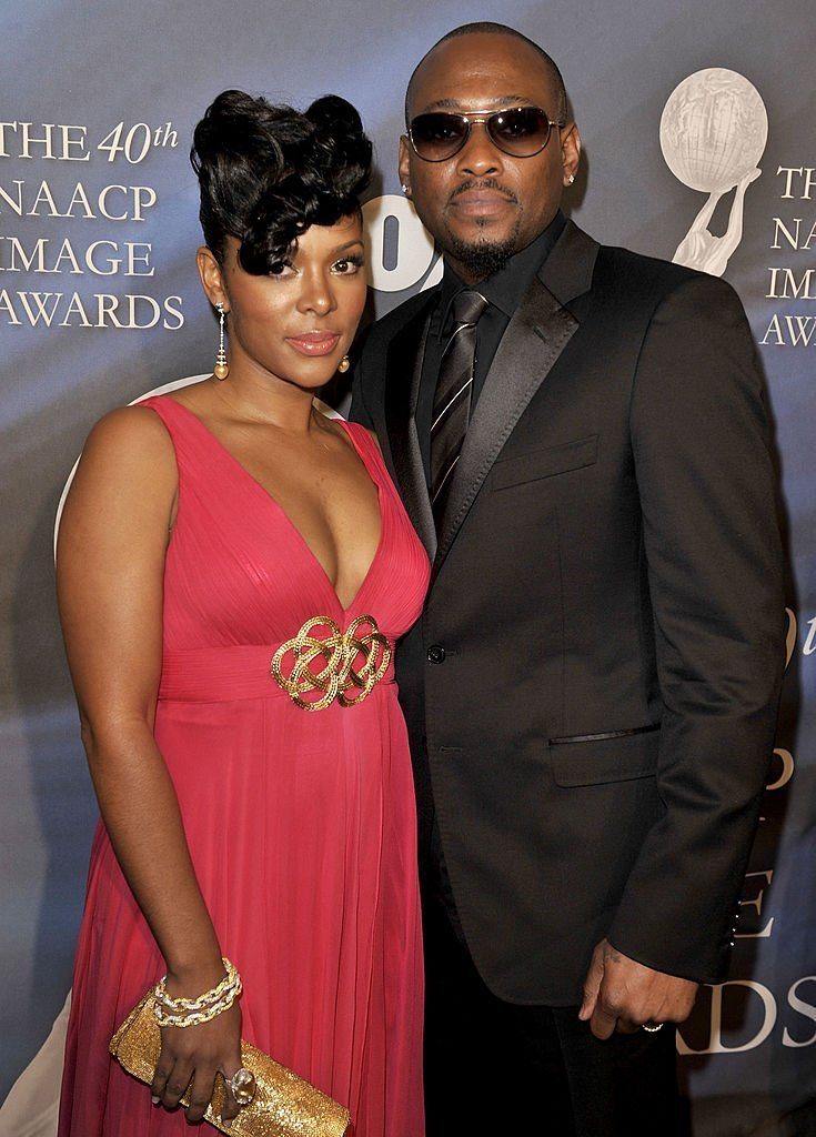 Actor Omar Epps (R) and Keisha Spivey arrive at the 40th NAACP Image Awards held at the Shrine Auditorium | Photo: Getty Images