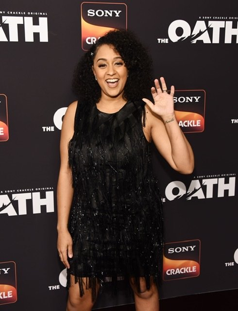 """Tia Mowry at Sony Crackle's """"The Oath"""" Season 2 exclusive screening on February 20, 2019 in Los Angeles 