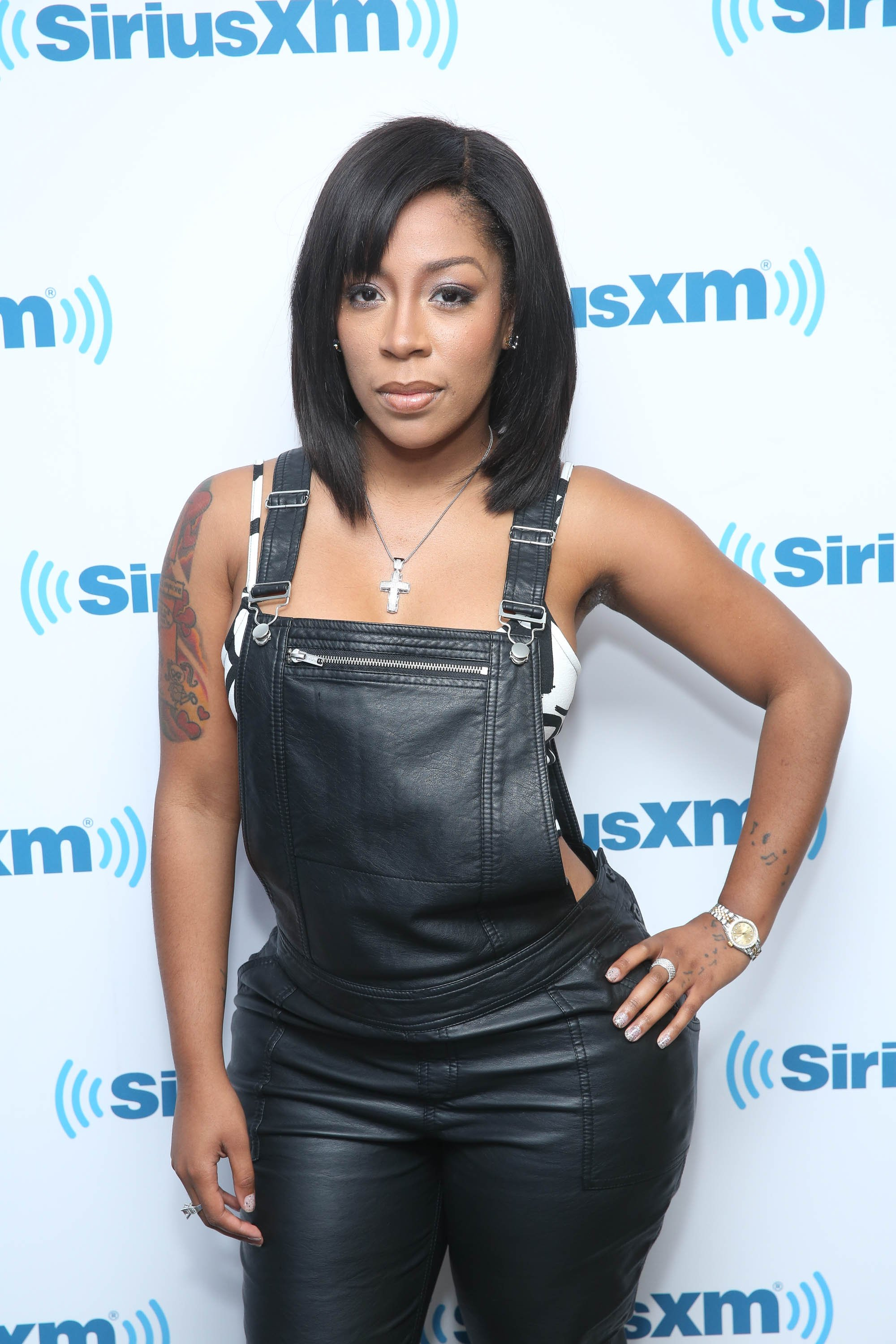 K. Michelle visits SiriusXM Studios on Sept. 18, 2014 in New York City | Photo: Getty Images