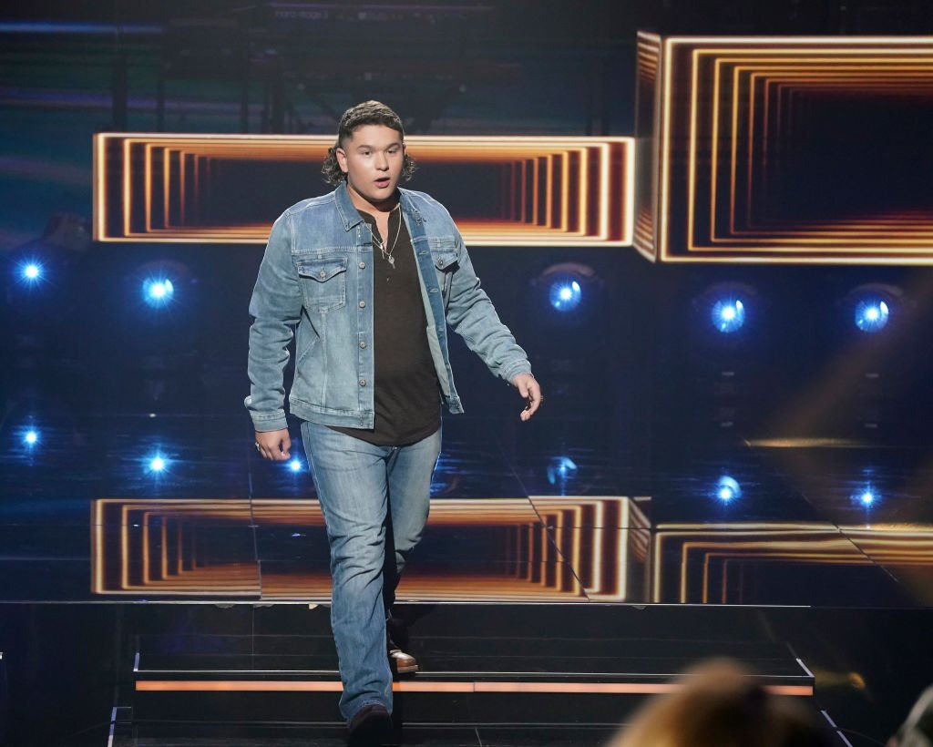 """Caleb Kennedy performed on """"American Idol"""" on May 9, 2021   Photo: Getty Images"""
